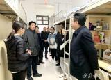六安职业技术学院看望春节期间留校河北籍学生