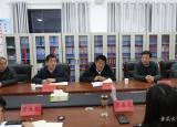 广西省宾阳县考察团到宿州环保工程学校调研与交流