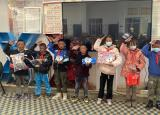滁州学院学子帮助西藏学童实现微心愿