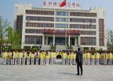 亳州幼儿师范学校师生演练逃生技巧确保消防安全