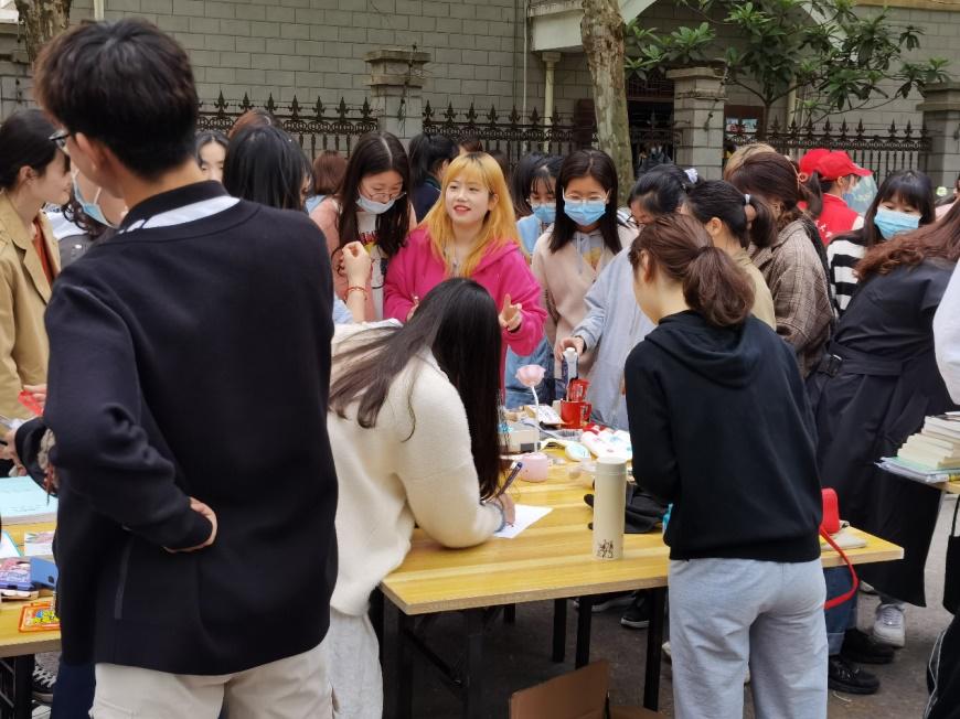 安徽工程大学生食工程学院2021年爱心义卖活动圆满完成