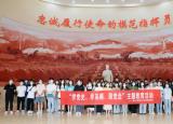 黄山学院艺术学院党校开展 学党史、学英模、跟党走主题教育实践活动