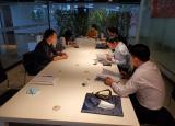 当涂县人社局来马鞍山学院验收茶艺师技能大师工作室