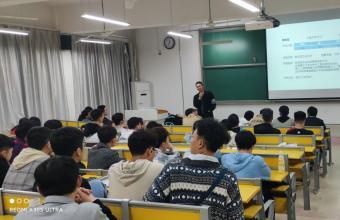 安徽理工大学力物学院举行考研经验交流会