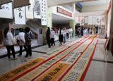 宿州职业技术学院举行大型书画巡回展