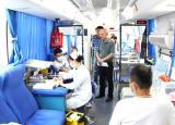 淮南联合大学组织开展无偿献血活动