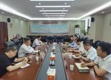 安徽建筑大学副校长蔡新立率队赴蚌埠、蒙城开展产学研合作和城市体检调研