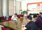 淮南师范学院领导开展后勤服务工作专题调研