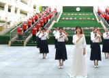 亳州学院附属学校:师生写唱《初心》筑梦红色大课