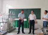 池州学院校党委书记孙晓峰张立驰到池州学院二级学院走访调研
