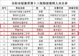 阜阳评选出40名安徽特级教师!名单正在公示!