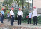 阜阳师范大学深入在建工地一线调研指导
