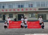 宿州学院外国语学院暑期实践团队深入长丰县陶新村开展党史宣讲活动