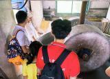 赴安徽宣纸厂,体验古法造纸术——池州学院暑期社会实践活动第二天