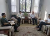 安庆市人民政府副市长郭家满到省体育局对接工作