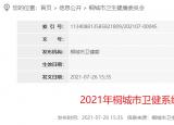 58人!安庆桐城卫健系统公开招聘专业技术人员