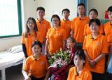 蚌埠工商学院红色路 青春行暑期社会实践团队探访七一勋章获得者马毛姐