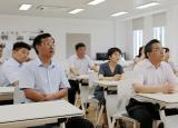 宣城市委常委、组织部部长朱立军,副市长黄敏一行到宣城职业技术学院调研指导工作