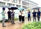 滁州学院全力做好6号台风烟花防御和校园防汛工作