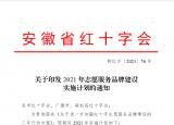 滁州职业技术学院获安徽省红十字会2021志愿服务品牌建设首批试点项目