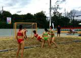 蚌埠学院女子手球队蝉联中国大学生沙滩手球锦标赛冠军