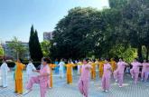 铜陵市义安区举办全民健身与奥运同行2021年全民健身日展示活动