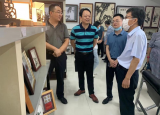 芜湖市人大常委会调研安徽机电职业技术学院《芜湖铁画保护和发展条例》贯彻实施情况