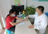 滁州学院学子——赴寿县宣传防疫知识