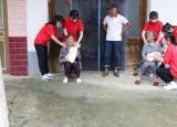 滁州城市职业学院开展暑期三下乡社会实践活动之关爱老人我来做