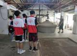 蚌埠学院学子三下乡调研,助力龙亢农场酒业与水稻业兴旺