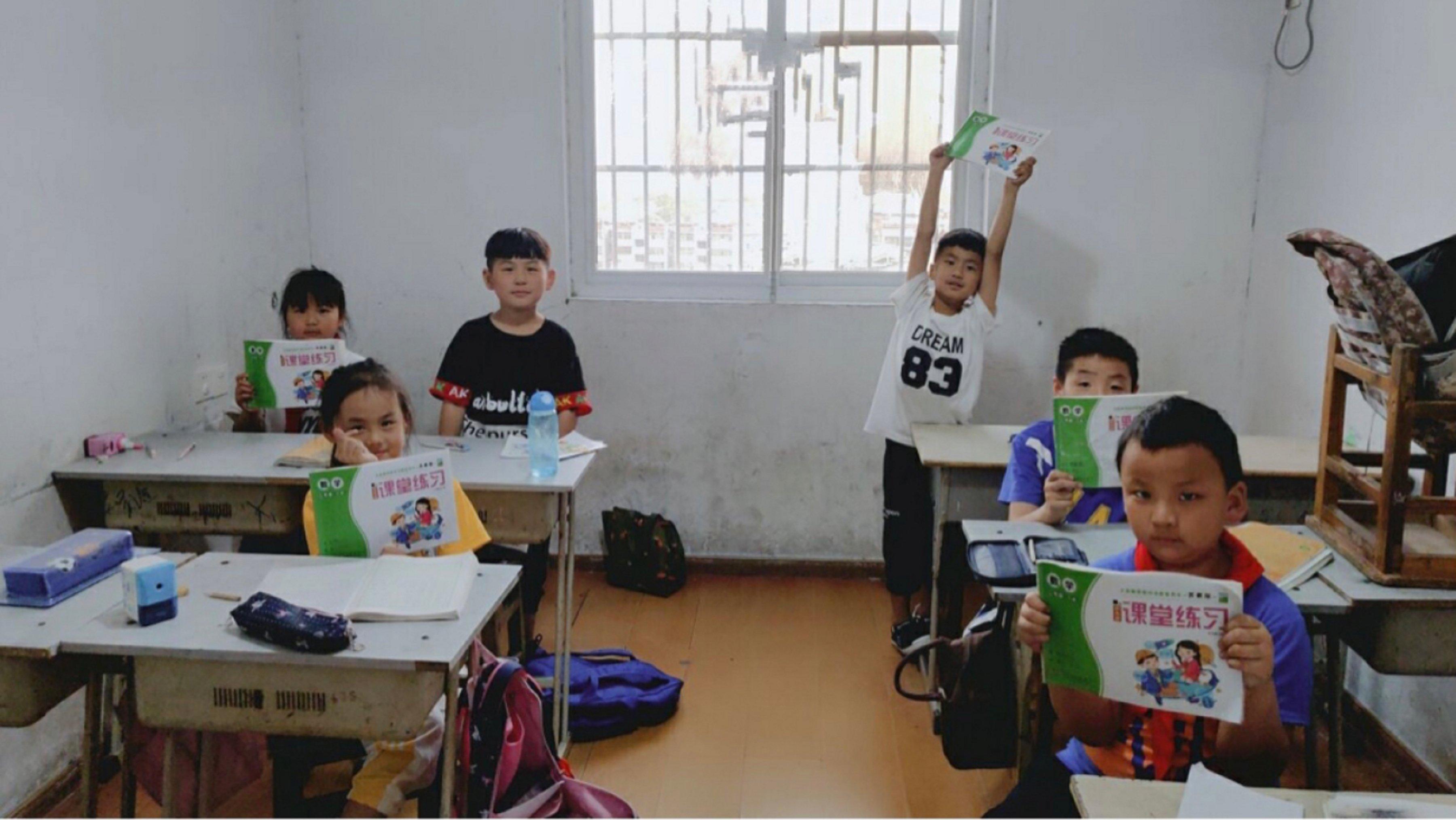 安徽学子三下乡:健康儿童心灵,色彩点亮人生