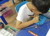 蚌埠医学院学子三下乡:健康儿童心灵,色彩点亮人生