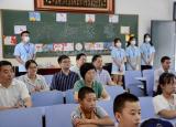 李丹云赴铜陵看望慰问暑期三下乡社会实践团队