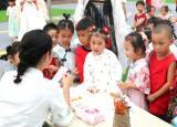 亳州幼师第二附属园萌娃收获满满中秋礼物