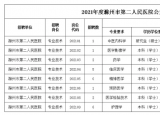有编制!滁州市第二人民医院招聘!本科可报!